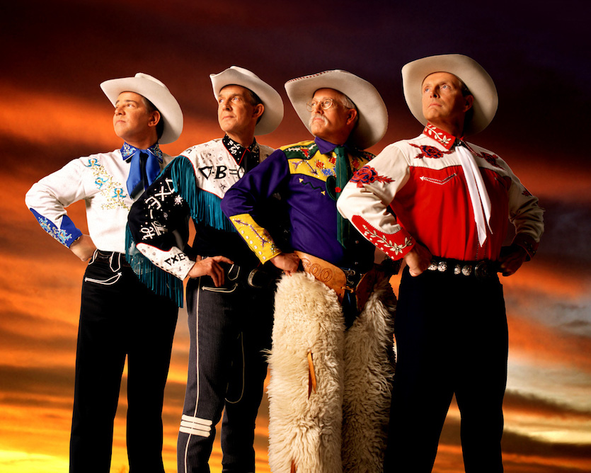 Classic cowboy quartet Riders in The Sky to perform Feb. 28 at ISU Stephens Performing Arts Center