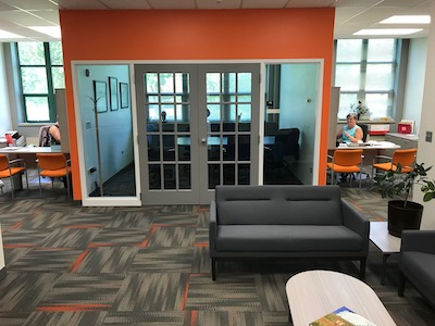 Office, paint, flooring upgrade at College of Pharmacy