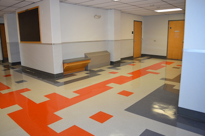 Liberal Arts Building flooring