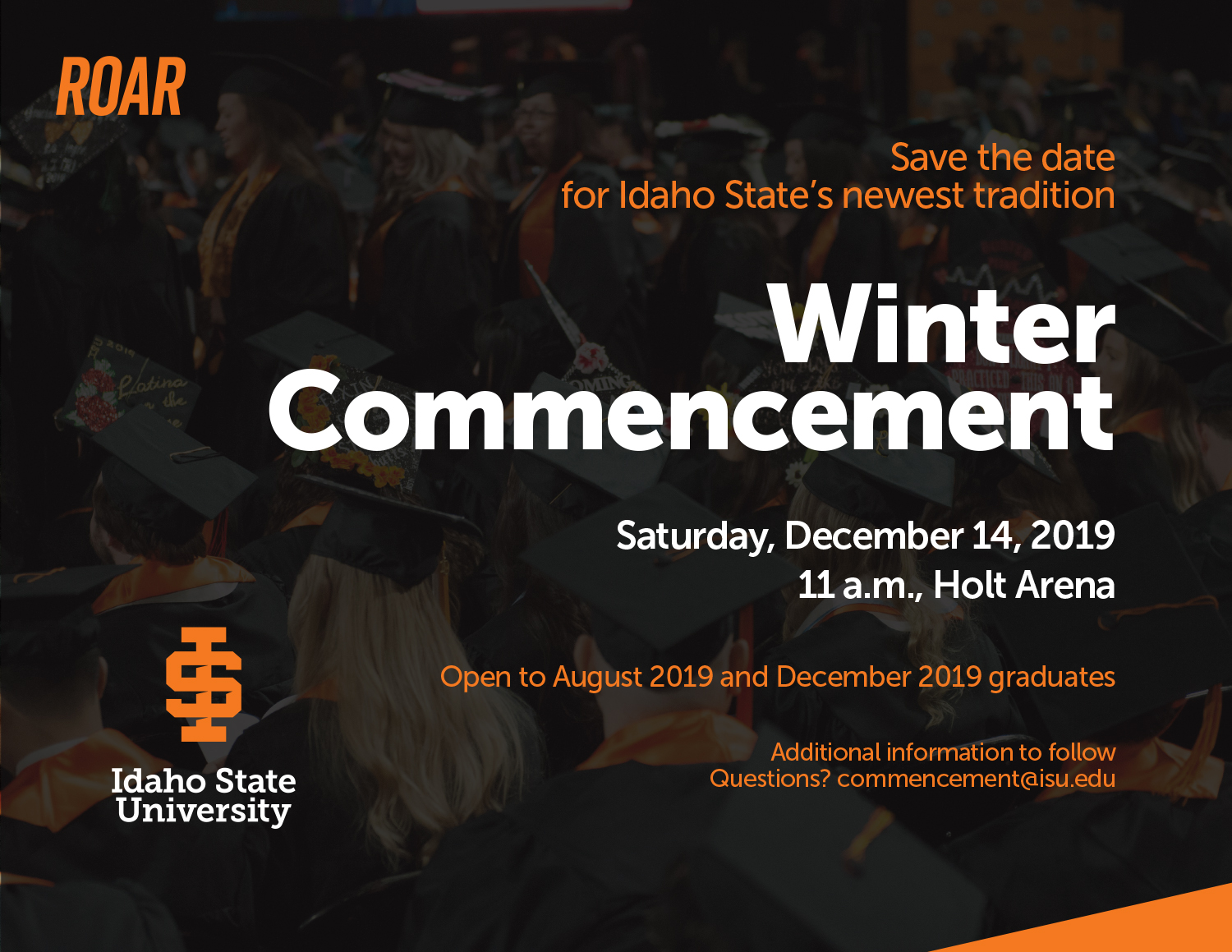 Save the Date for Winter Commencement