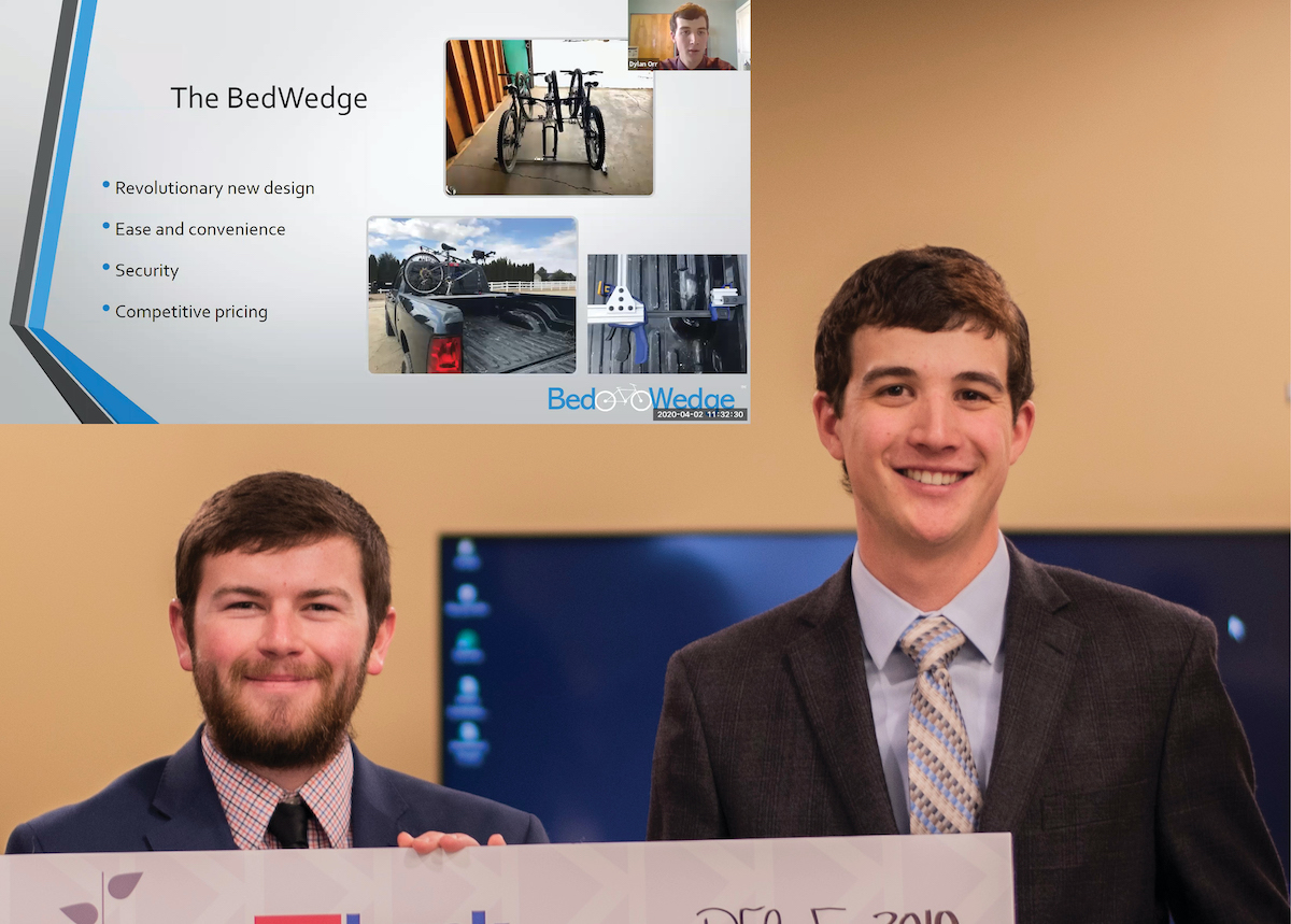 Three Idaho State University student teams place second at the Idaho Entrepreneur Challenge