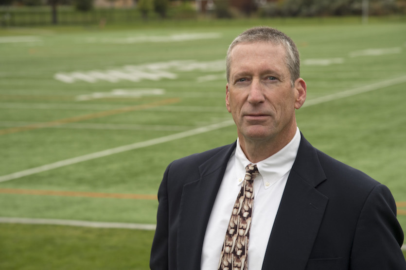 Idaho State University sports science Professor Michael Meyers documents link between injuries and infill weight of artificial turf