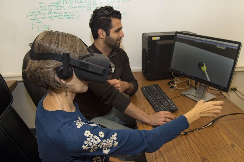 Idaho State University researchers continue work on augmented reality device to aid arm rehabilitation