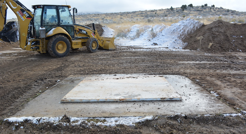 Idaho State University engineering department, students get two more testing facilities – drop/impact site, asphalt lab – up and running