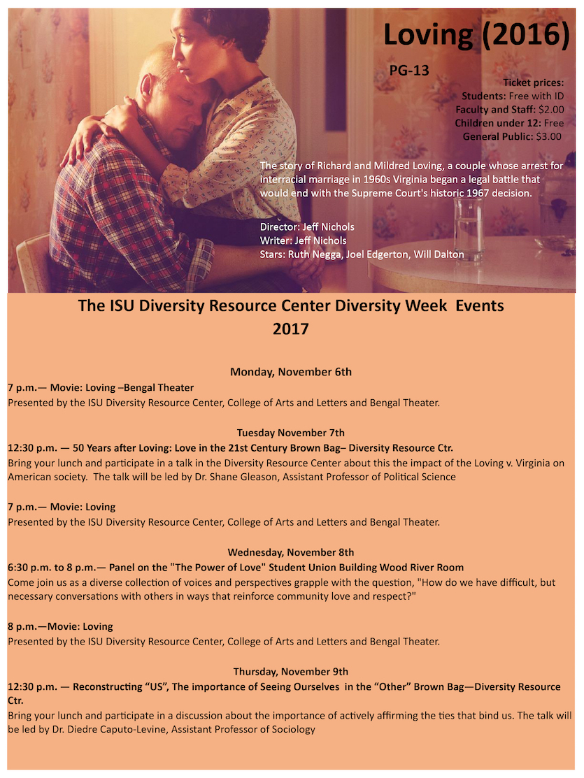 Diversity Week events run Nov. 6-9 at Idaho State University