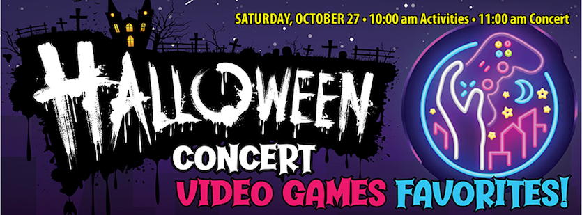Idaho State-Civic Symphony to present annual Halloween Family Concert VIDEO GAMES FAVORITES! on Oct. 27