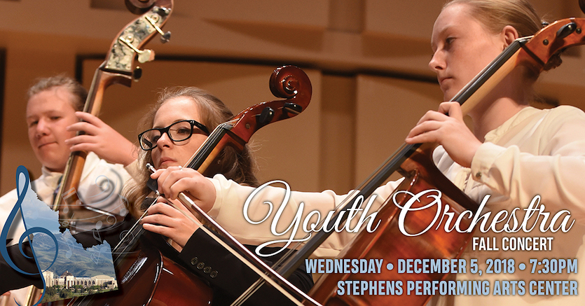 Idaho State-Civic Symphony Youth Orchestra to perform annual fall concert on Dec. 5  at 7:30 p.m.