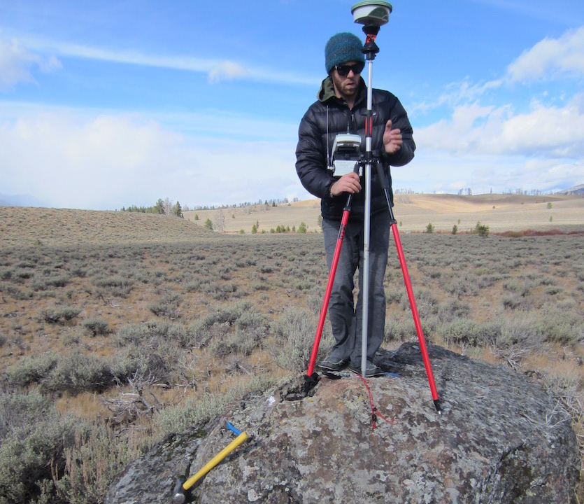 Idaho State University Ph.D. student Chris Tennant's research on snowpack measurement recognized