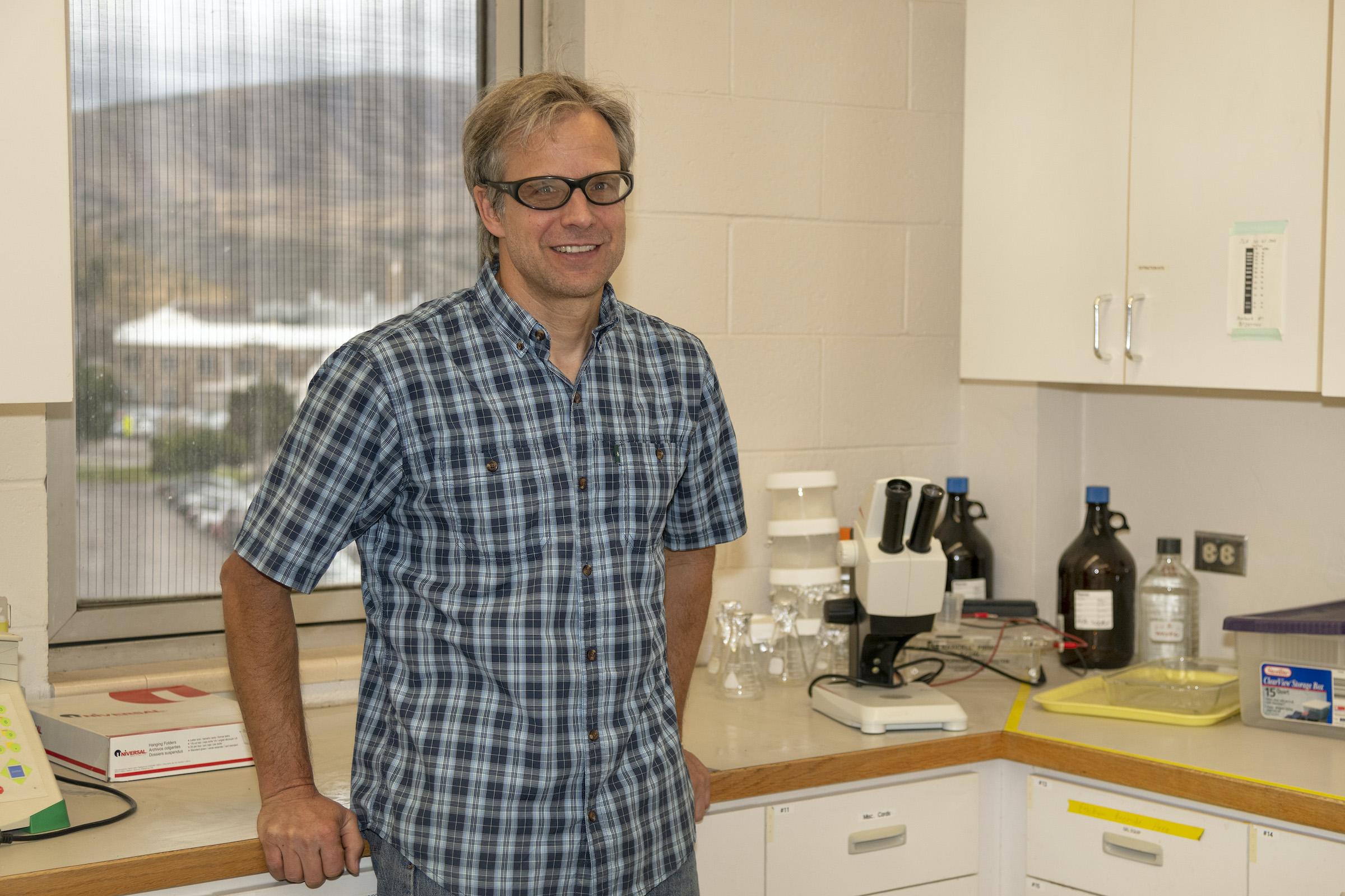 ISU Professor Aho studies how airborne bacteria, fungi help it rain and snow