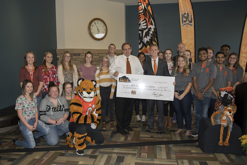 I Love ISU scholarship campaign exceeds goal, raises $280,285 for Idaho student scholarships