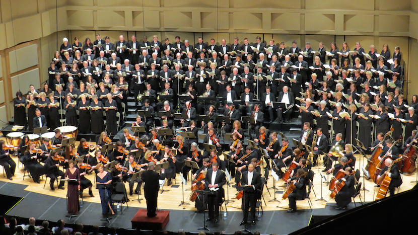 Idaho State-Civic Symphony to present Beethoven's Ninth Symphony April 29-30; Season finale features guest vocalists, Camerata Singers, ISU Concert Choir