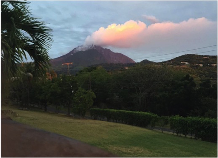 ISU Geosciences group recounts trip to the volcanic Caribbean Island Montserrat, featuring the 'Pompeii of the West'