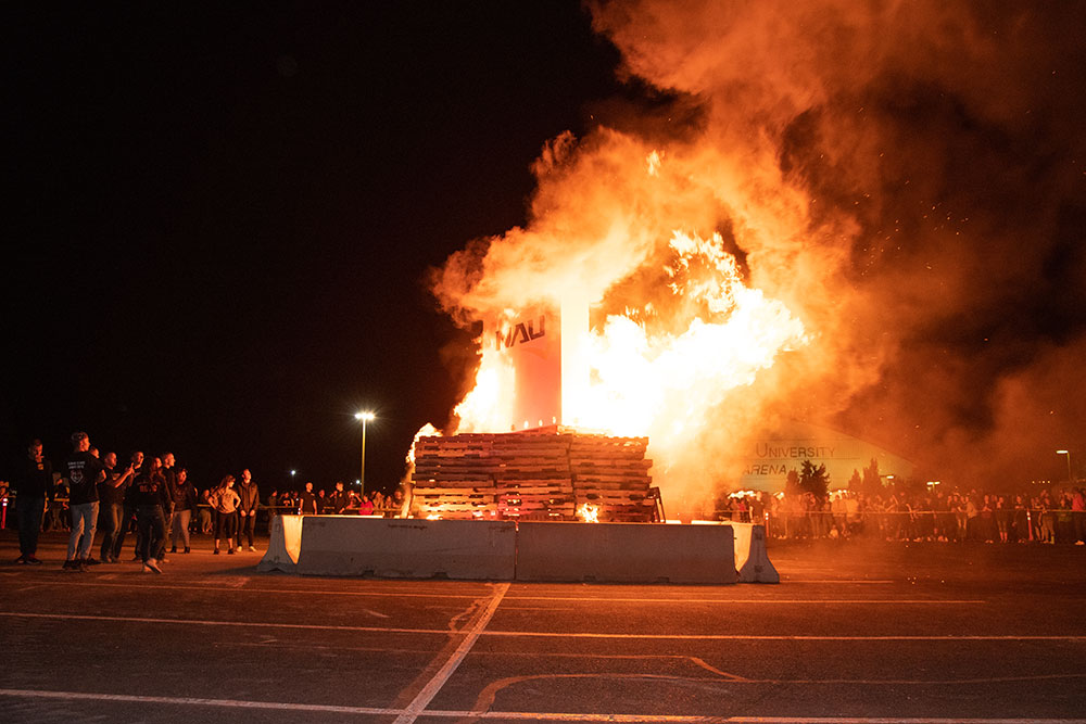 The Homecoming Bonfire