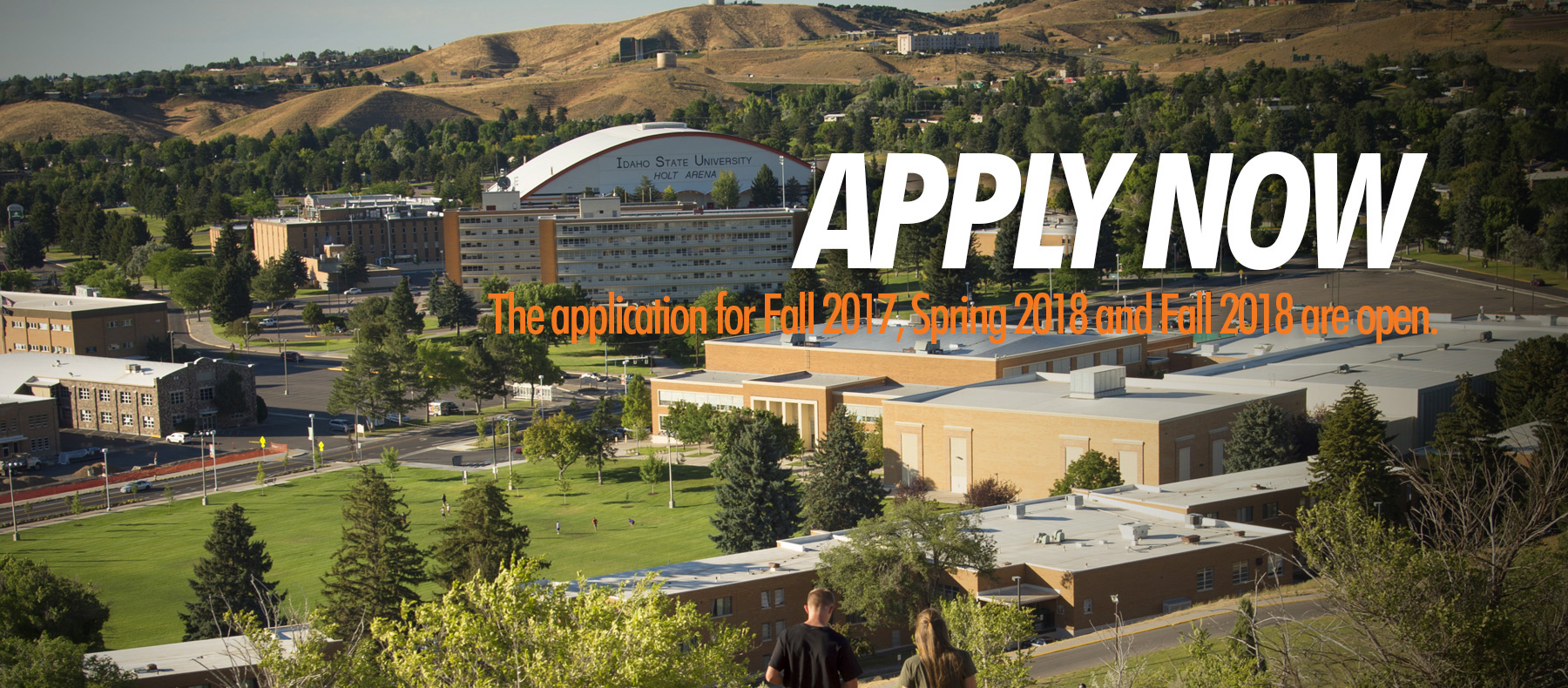 Apply now. The application for Fall 2017, Spring 2018 and Fall 2018 are open.