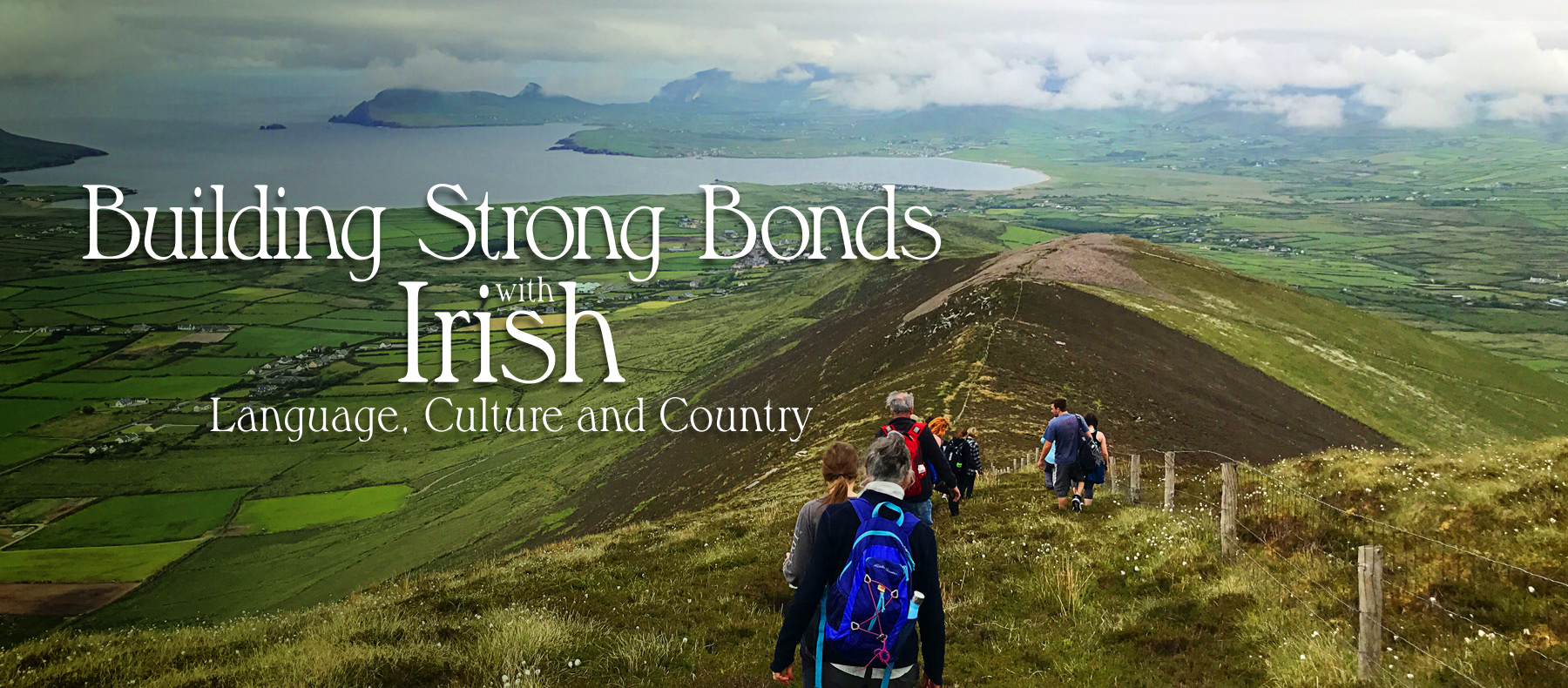 Building strong bonds with Irish language, culture and country