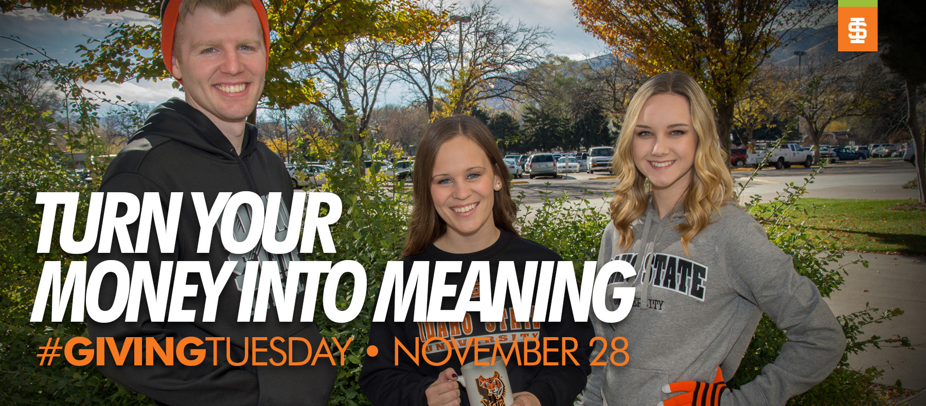 Turn your money into meaning #givingtuesday November 28