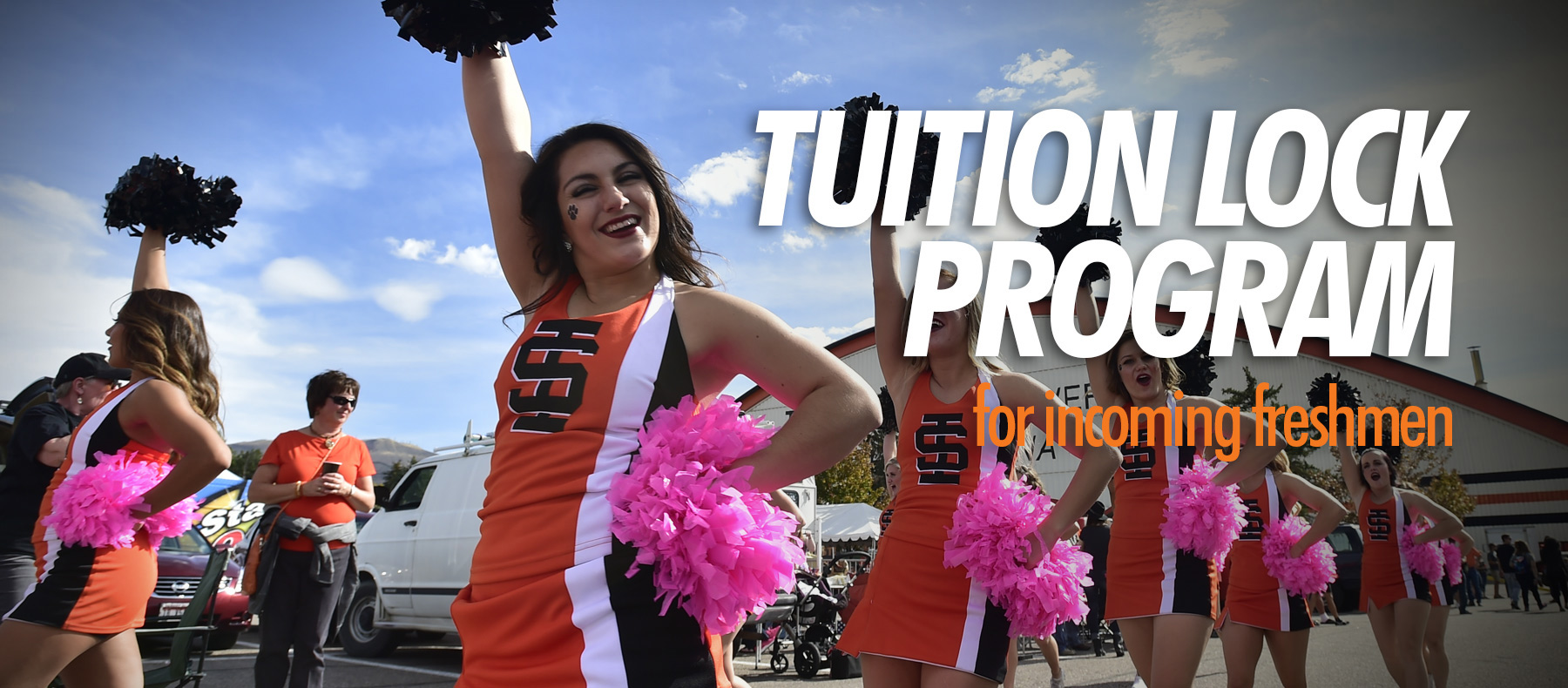 Tuition lock program for incoming freshman