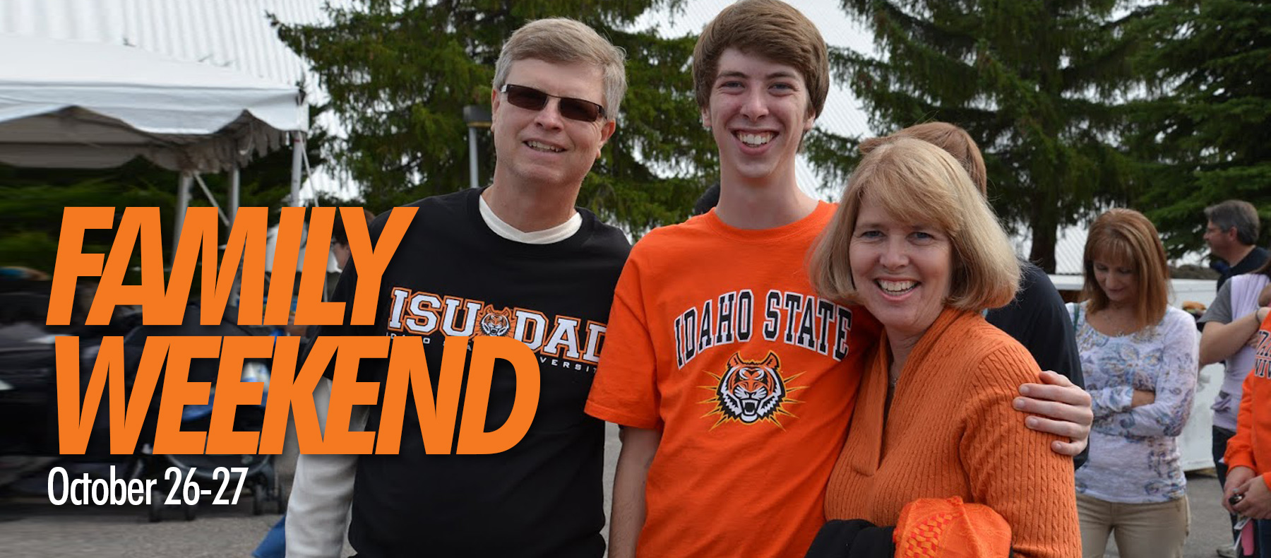 Family Weekend Oct. 26-27