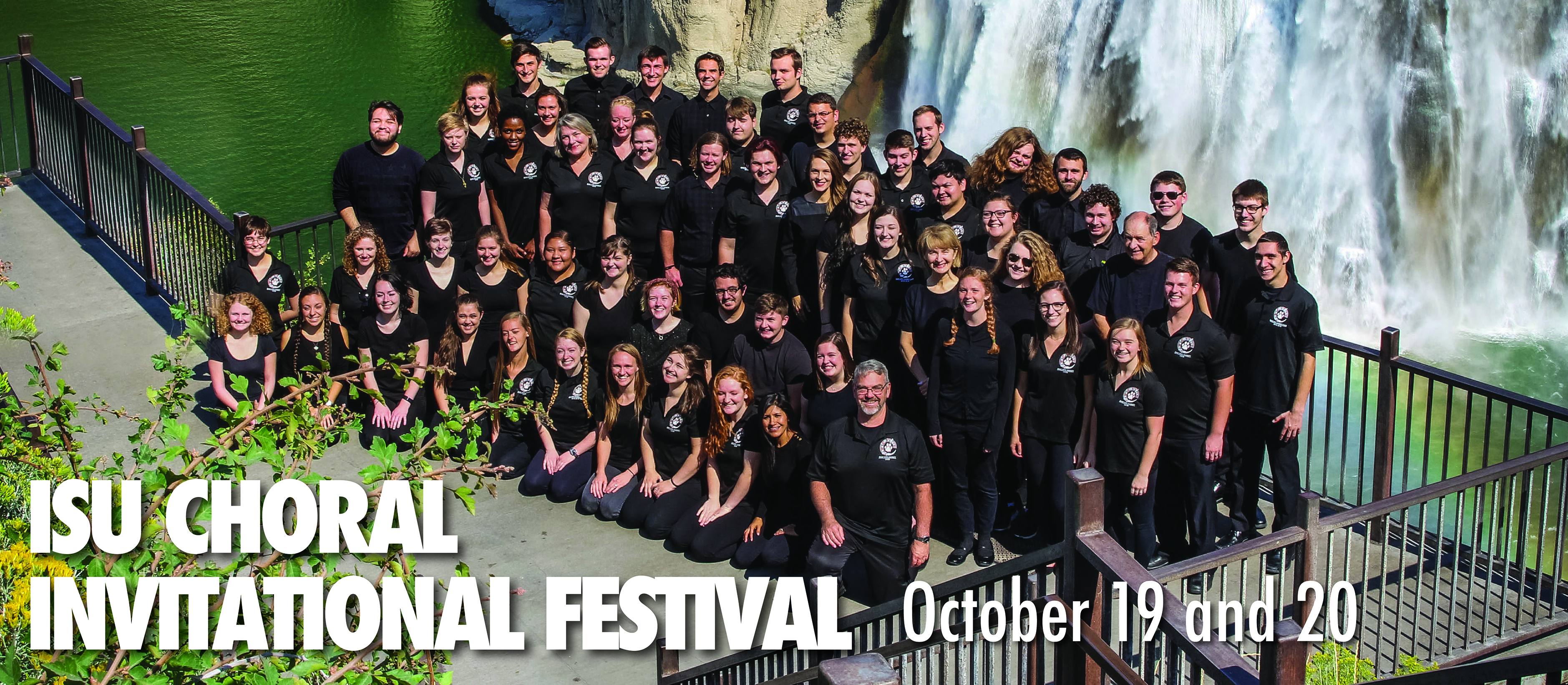 ISU Choral Festival Oct. 19 and 20