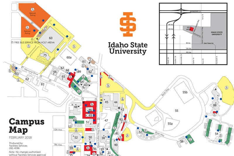 Maps Idaho State University